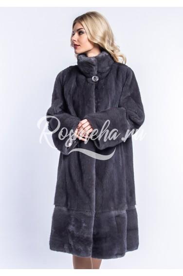 Женская норковая шуба (09-110501)