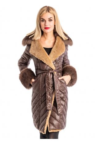 Модная утепленная куртка (98-905)
