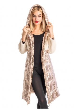 Стильная утепленная куртка (98-905)