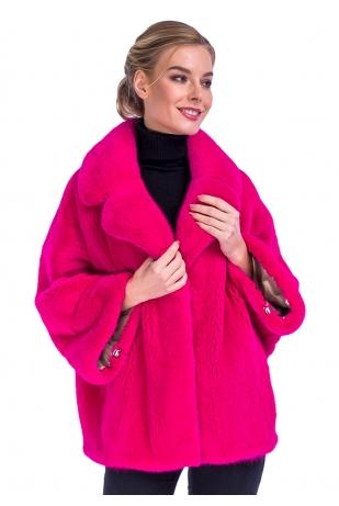 Розовая фуксия кимоно Nafa английский воротник (345-6513)