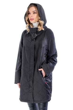 Городская женская куртка капюшон cop copine (006-93)
