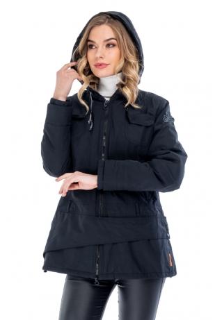Городская женская куртка капюшон cop copine (1105В-44)
