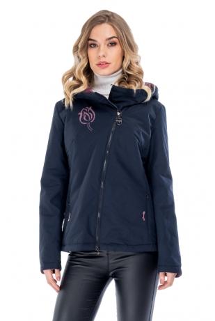 Короткая куртка с капюшоном cop copine (209-66-5)