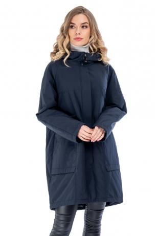 Синяя женская куртка весна-осень cop copine (2099-66-5)