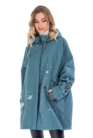 Женская куртка большой размер cop copine (383-66)