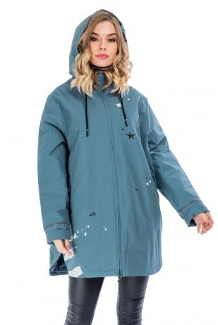 Модная куртка большого размера cop copine (111-66-68)