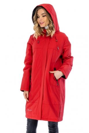 Малиновая женская куртка cop copine (681-2-88)