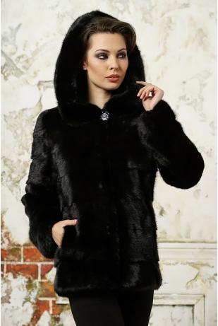 Куртка из меха норки (14-177-206Н)